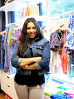 LIU Post Fashion Merchandising student Monica Peralta, gains real-world business experiences working in The Student Body, a student-run retail fashion business on the Brookville campus.