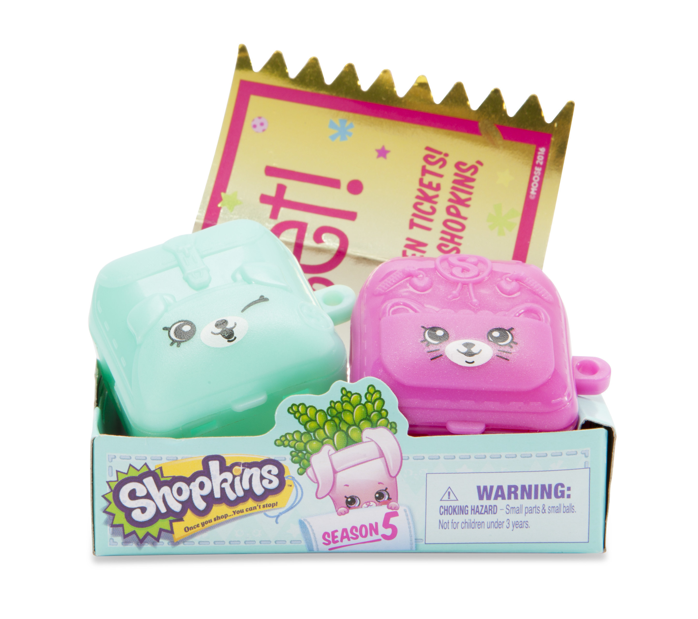 Moose Toys announces its first-ever Shopkins Golden Ticket Hunt, launching a nationwide treasure hunt to celebrate Shopkins fans and the fifth season of America's favorite tiny toy.