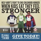 Help Arby's Fight To End Childhood Hunger. When Kids Eat They Feel Stronger.