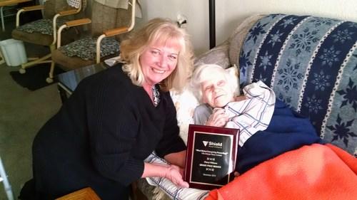 Cheryl W. of Denver, Colorado Shield HealthCare 14th Annual Caregiver Story Contest Grand Prize Winner
