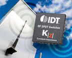 IDT Improves RF Switch Performance with New SPDT Switch Featuring KZ Constant Impedance Technology