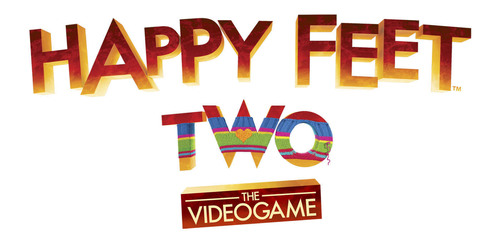 HAPPY FEET TWO -- THE VIDEOGAME logo.  (PRNewsFoto/Warner Bros. Interactive Entertainment)