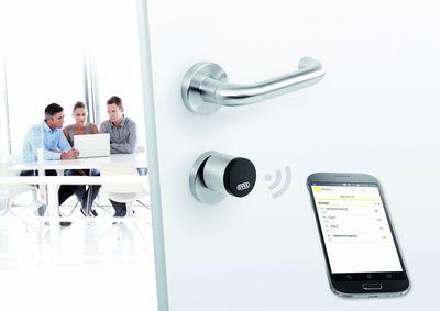 AirKey Zylinder Office / AirKey: your mobile phone is the key (PRNewsFoto/EVVA Sicherheitstechnologie GmbH)