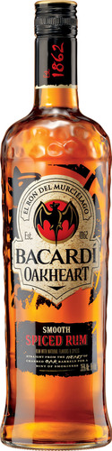 BACARDI(R) Redefines Spiced Rum with Bacardi OakHeart.