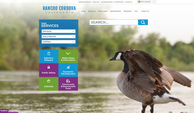 Rancho Cordova worked with Vision to create a new website that meets Federal accessibility standards. The result is a simple, clean site that is easy to read and navigate.