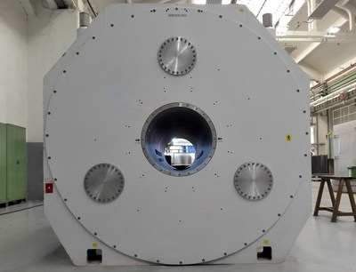 Ultra High Field (UHF) superconducting magnets in ASG production plant (PRNewsFoto/ASG Superconductors)