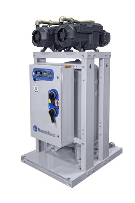 The new medical oil-less rotary vane vacuum system from BeaconMedaes