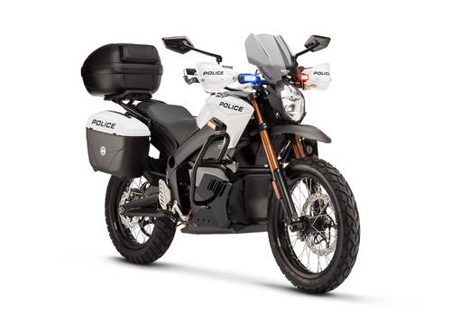 2013 Zero Motorcycles Police Model.  (PRNewsFoto/Zero Motorcycles)