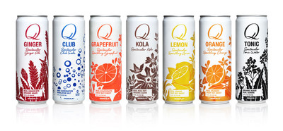 Q Drinks Launches its Spectacular Sodas in Rexam 12 oz. Sleek® Cans