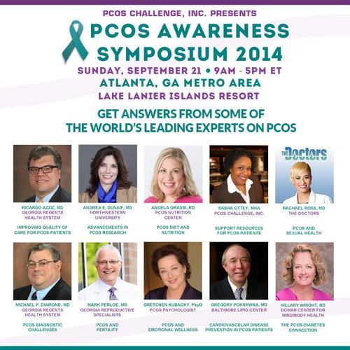 PCOS Awareness Symposium (PRNewsFoto/PCOS Challenge, Inc.)