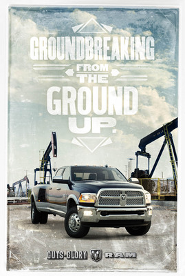 "The Ram Truck brand introduces its ""Groundbreakers"" advertising campaign on Thursday, Sept. 26, 2013.  (PRNewsFoto/Chrysler Group LLC)"