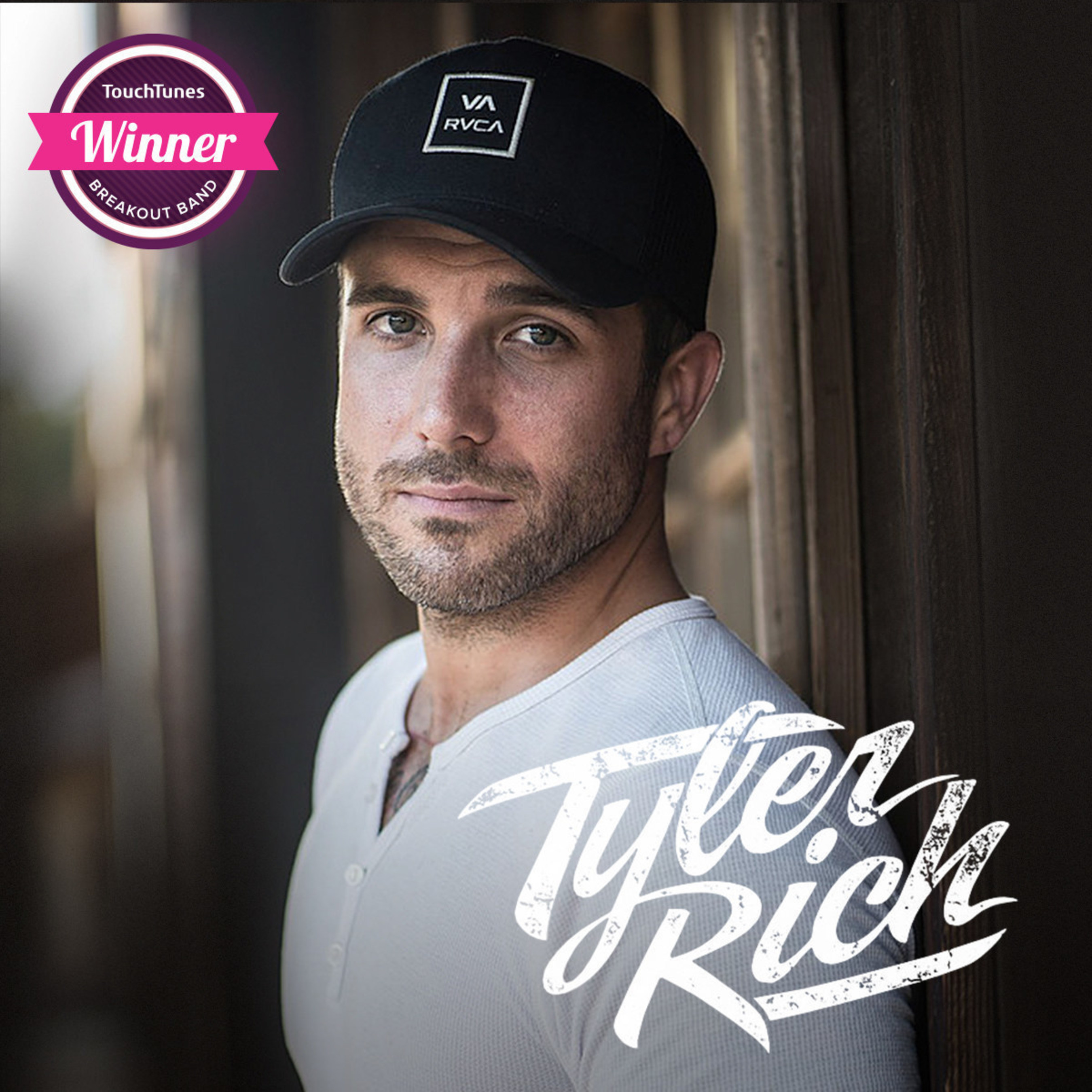 "Country Artist Tyler Rich Wins TouchTunes' Second Annual Breakout Band Contest with Featured Single ""California Grown"""