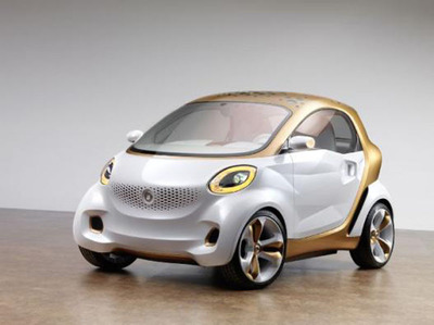 BASF and Daimler Smart Forvision Concept Car