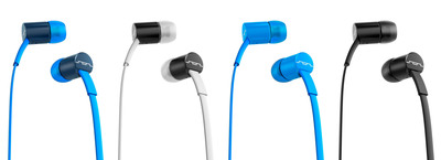 SOL REPUBLIC launches Jax in-ear headphones, amazing signature sound for under $40.  (PRNewsFoto/SOL REPUBLIC)