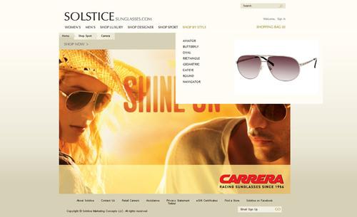7bcae7f64d6 SOLSTICE Sunglass Boutique Sets Its Sights on e-Commerce