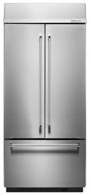 KitchenAid Built-In French Door Bottom Freezer Refrigerator