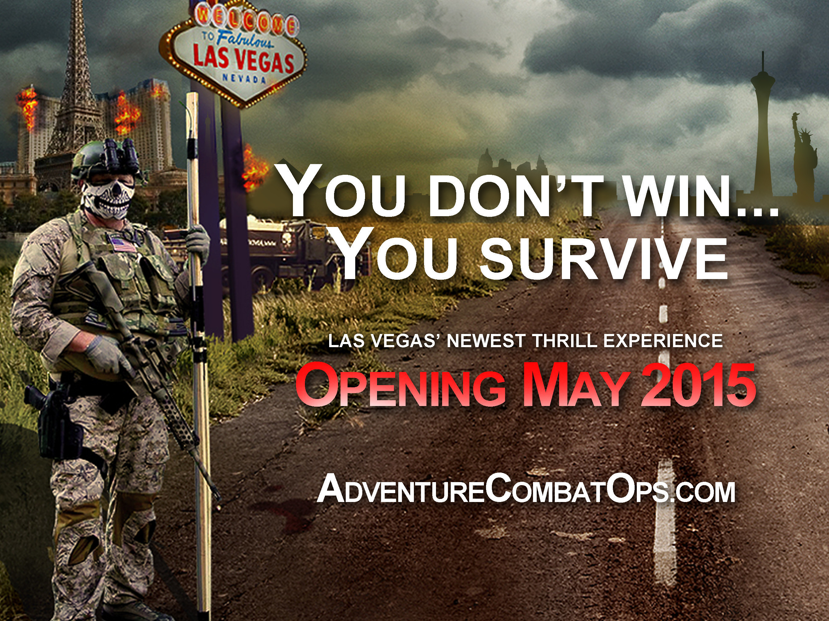 Adventure Combat Ops Brings The Most Realistic, Apocalyptic, Combat Simulation In The World To Las Vegas