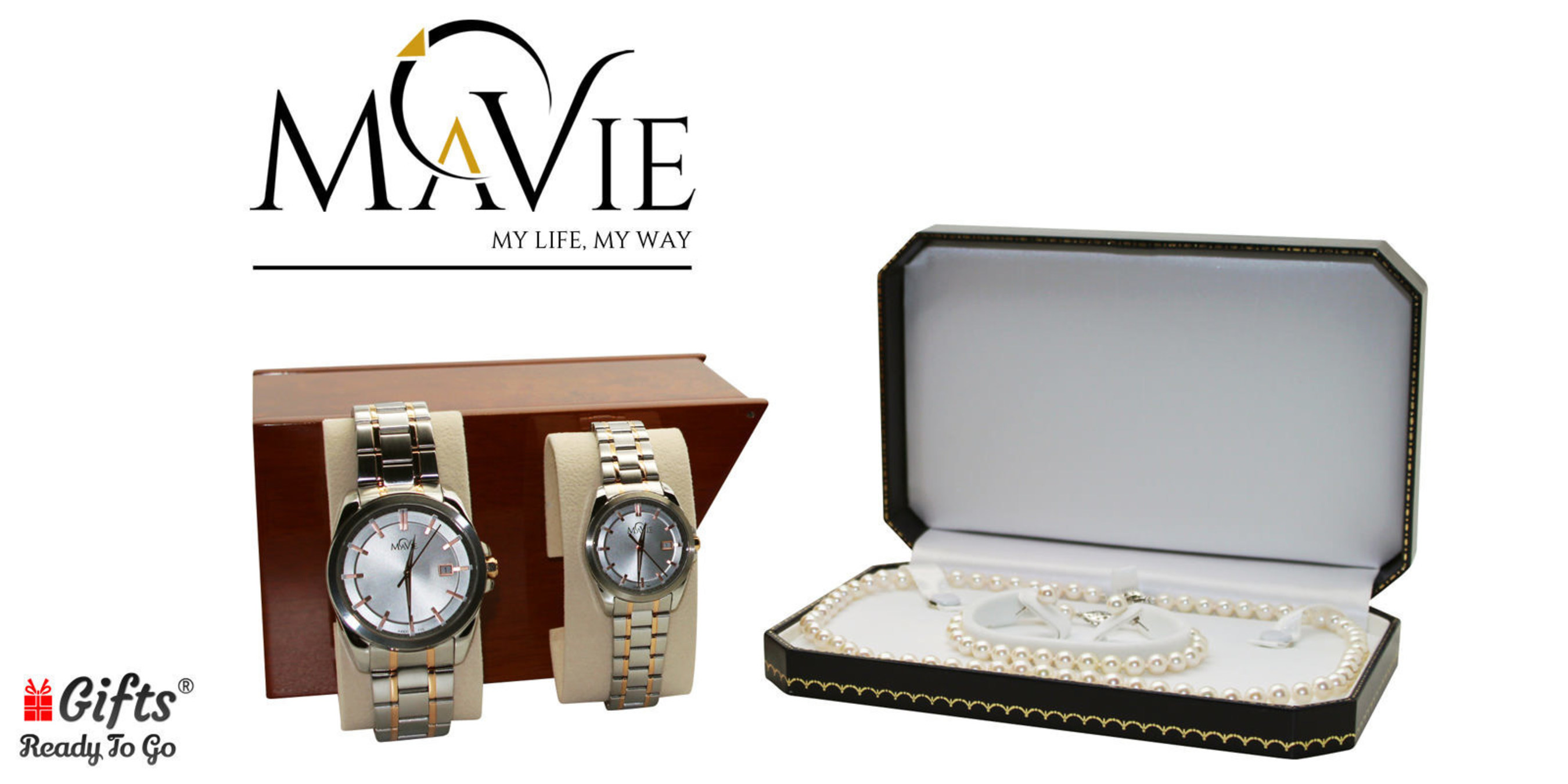 Luxury Gift Retailer Gifts Ready To Go Announces MaVie Pearl Jewelry and Fine Watches Collection