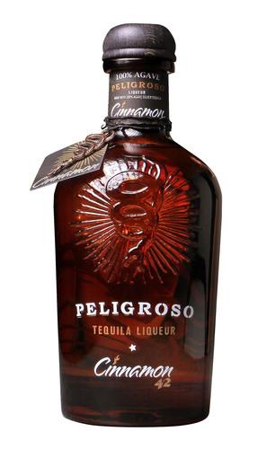 Peligroso Cinnamon Tequila.  (PRNewsFoto/Peligroso Spirits Company)