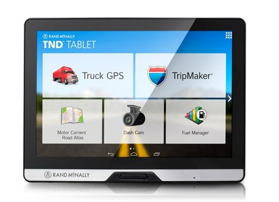 "Rand McNally's TND(tm) Tablet answers professional drivers' calls for ""one device that does it all."" The TND(TM) Tablet marries Rand McNally's advanced TND(TM) truck its Rand McNally's advanced GPS device and award-winning truck navigation with an Android tablet pre-loaded with trucking applications and access to the Android marketplace. Rand McNally's revolutionary TND(TM) Tablet is the single device for the truck, for business, and for life off-duty."