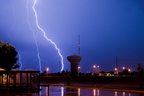 Lightning Safety Week: State Farm releases top 10 states for lightning claims (PRNewsFoto/State Farm)