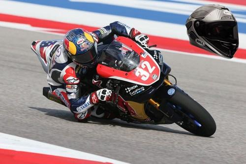 Cameron-Beaubier---Bell-Pro-Star-helmet-reinforced-by-TeXtreme (PRNewsFoto/TeXtreme(R)) (PRNewsFoto/TeXtreme(R))