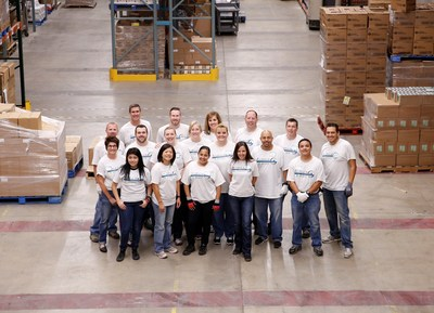 An Aimco team in Denver volunteered in the Food Bank of the Rockies warehouse to sort donations for families in need. This activity was one of 44 philanthropic initiatives organized by Aimco Cares across the country as part of the company's recent national week of community service.
