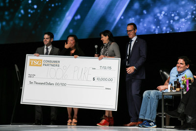 100% Pure selected as Grand Prize Winner of Beauty Pitch 2015! The award includes a one-year mentorship with Mark Cuban, $10,000 from TSG Consumer Partners and a partnership from CircleUp.