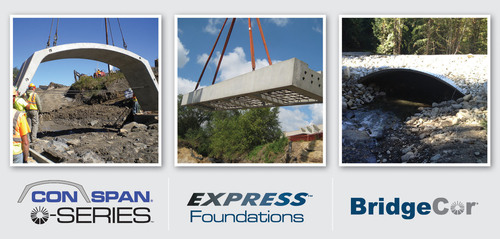 Contech Engineered Solutions launches three new bridge products offering accelerated bridge construction with ...