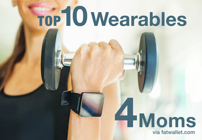 Mother's Day Spending Up as Online Shoppers Seek Holiday Discounts: FatWallet offers guide to the 10 best-selling wearables trending as the top gifts for moms in 2016.