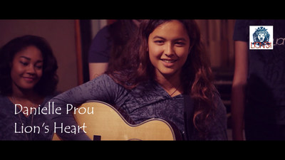 Recording Artist Danielle Prou, 15, has been named the national spokeswoman for Lion's Heart, a teen volunteer organization representing more than 4,200 student volunteers from 45 chapters around the country.