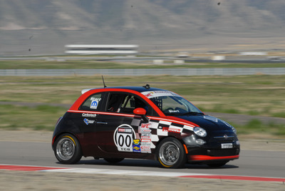 Fiat 500 B-Spec Leads World Challenge Touring Car-B Standings After Inaugural Race Weekend.  (PRNewsFoto/Chrysler Group LLC)