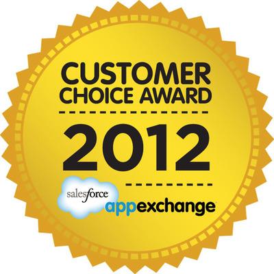 Marketo Receives Salesforce AppExchange Customer Choice Award for Marketing. (PRNewsFoto/Marketo) (PRNewsFoto/MARKETO)
