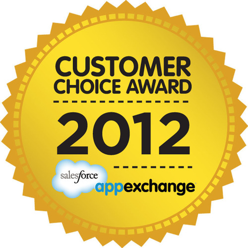 Marketo Receives Salesforce AppExchange Customer Choice Award for Marketing. (PRNewsFoto/Marketo) ...