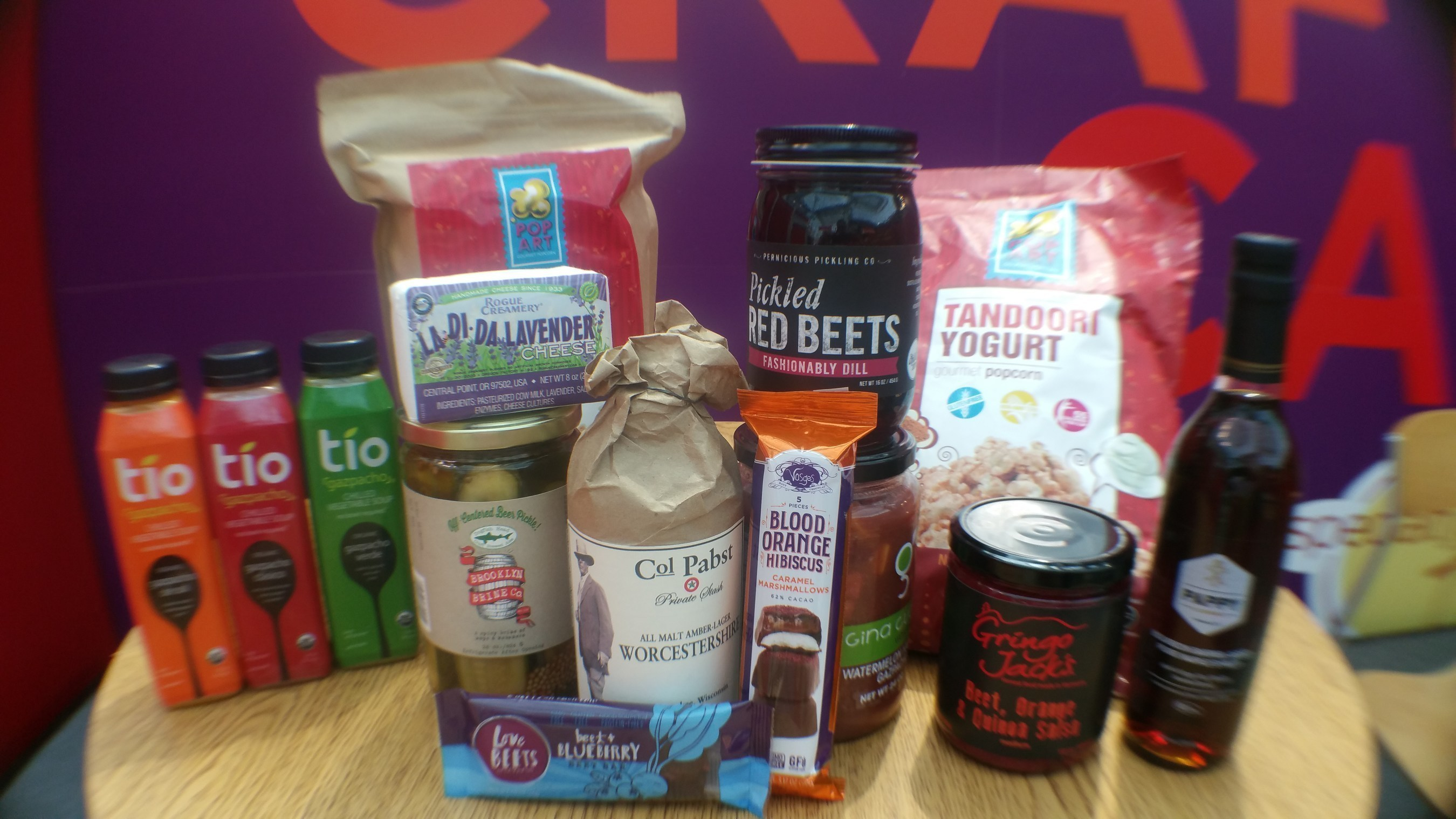 Gazpacho, Flowers, Beets top Trends at Summer Fancy Food Show