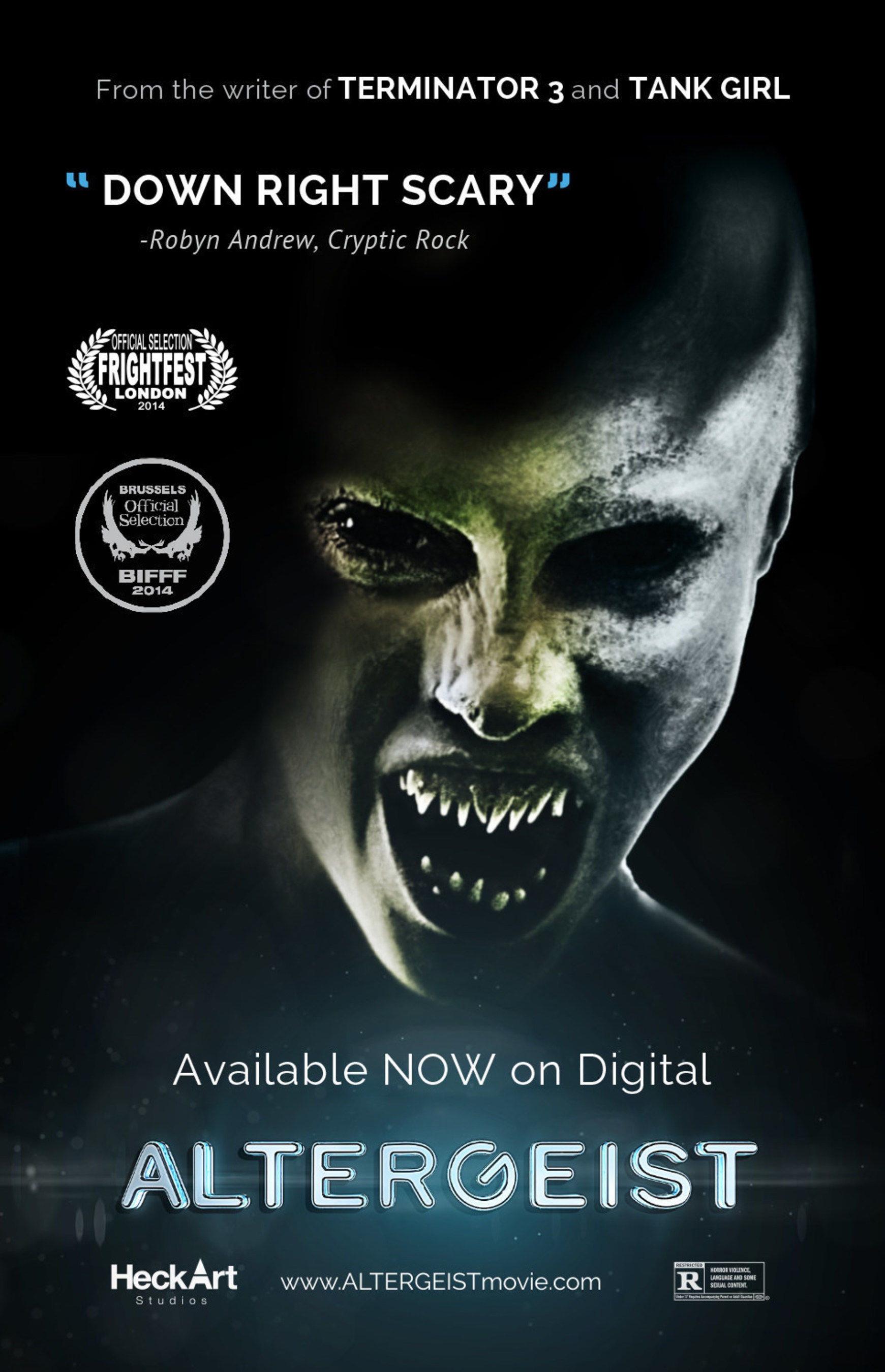 HeckArt Studios and TV4 Entertainment Bring ALTERGEIST to Small Screens Everywhere Just in Time for Halloween