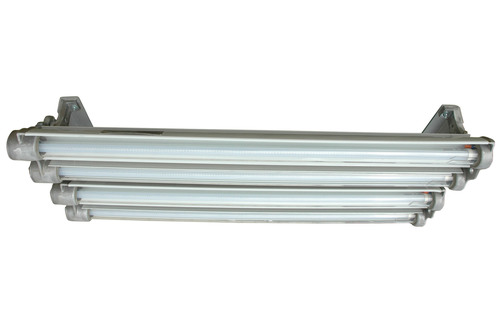 The Magnalight EPL-EMG-48-4L-LED Explosion Proof LED Light Fixture is U.S./Canada U.L. approved Class 1 ...
