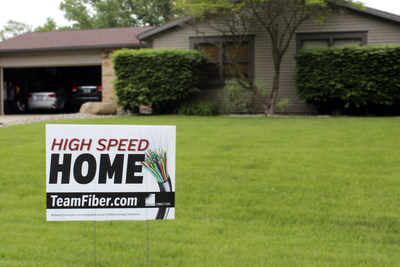 Home served by Midwest Connections' TeamFiber