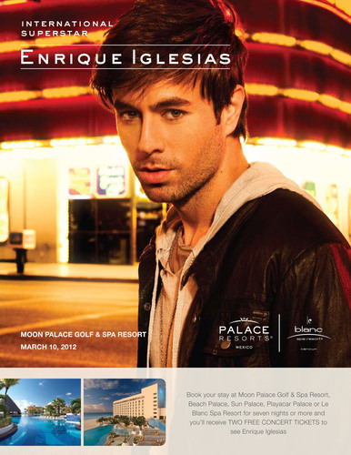 Enrique Iglesias Takes the Stage at Moon Palace Golf & Spa Resort, March 10, 2012