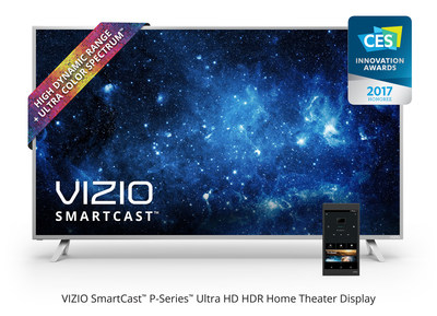 VIZIO Named As CES 2017 Innovation Awards Honoree