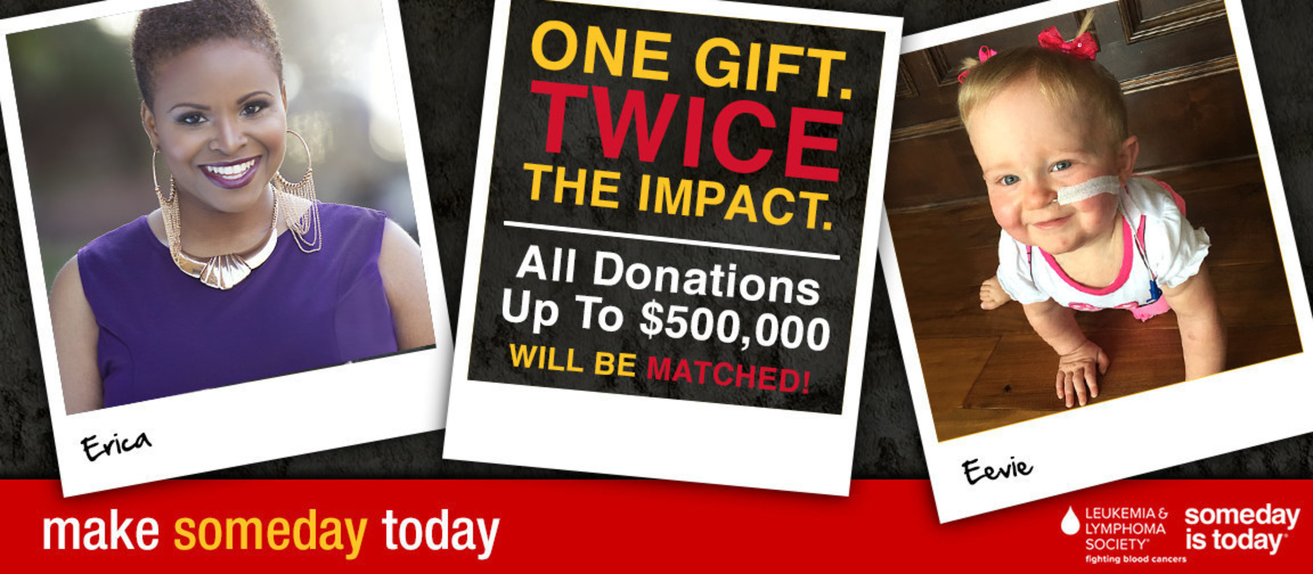 Blood cancer survivors, Erica and Eevie are alive today because of research funded by The Leukemia & Lymphoma Society.