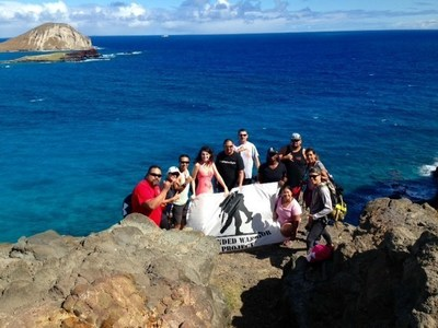 Wounded veterans experience the beauty of Hawaii during special tour.
