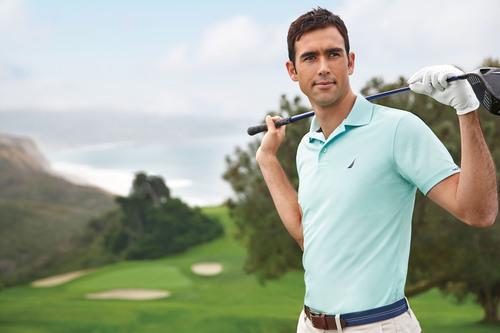 PGA Tour player Cameron Tringale in Nautica.  (PRNewsFoto/Nautica)