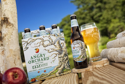 Angry Orchard introduces Easy Apple hard cider: less sweet, madly refreshing.
