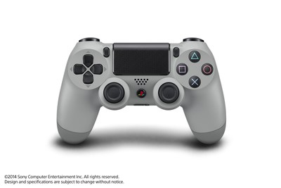 "Sony Computer Entertainment announced the ""PlayStation 4 20th Anniversary Edition"" commemorating the 20th anniversary of the original PlayStation on Dec. 3, 1994. Pictured is DUALSHOCK 4 wireless controller, which is included in the special edition PS4 package."