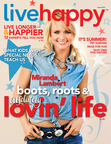 Live Happy July/August 2014 issue features Miranda Lambert (PRNewsFoto/Live Happy LLC)