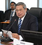 Former President of Indonesia Yudhoyono is now President and Chairman of GGGI