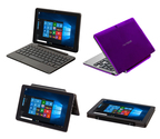 New Nextbook Flexx 9 Windows 10 tablet with detachable keyboard available now at Walmart.com in black, blue or purple.