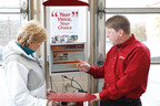 Jiffy Lube now helps customers choose when to return for their next oil change.  (PRNewsFoto/Jiffy Lube International)