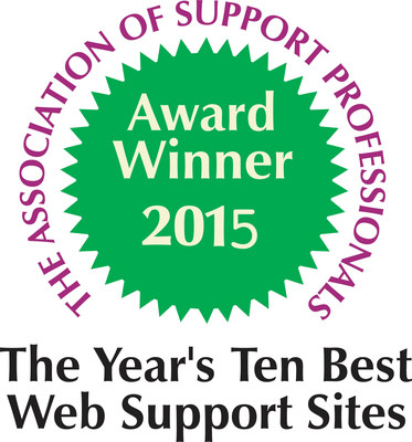 So proud! Association of Support Professionals named @JiveSoftware on their #top10 best #websupport sites of 2015 for its own use of Jive-x external community solution!